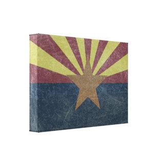 Flagge von Arizona Leinwanddruck