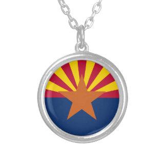 Flagge von Arizona Versilberte Kette