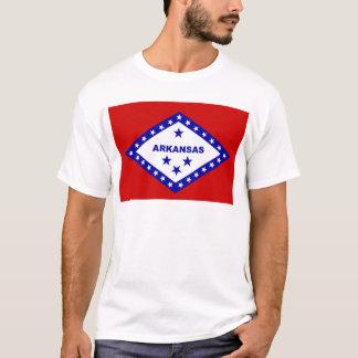 Flagge von Arkansas T-Shirt