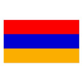 Flagge von Armenien-Visitenkarten Visitenkarten
