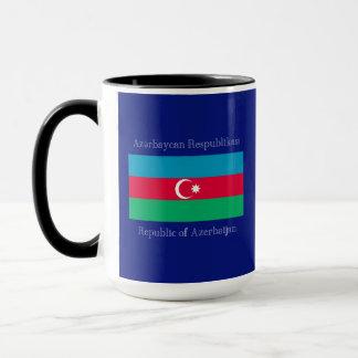 Flagge von Aserbaidschan Tasse