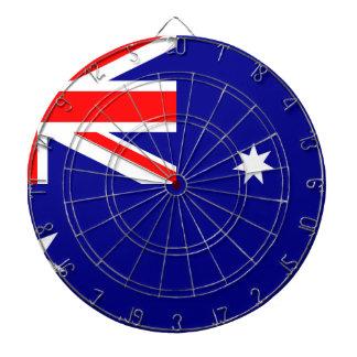 Flagge von Australien - australische Flagge Dartscheibe