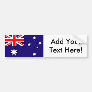 Flagge von Australien Autoaufkleber
