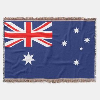 Flagge von Australien Decke