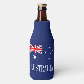 Flagge von Australien Flaschenkühler