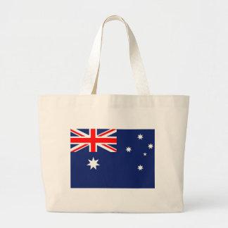 Flagge von Australien Jumbo Stoffbeutel