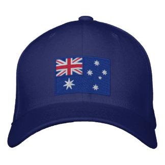 Flagge von Australien personalisiert Bestickte Baseballkappen