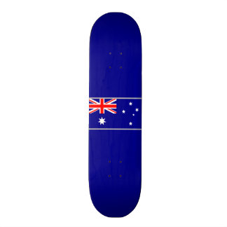 Flagge von Australien-Skateboard Individuelle Skateboards