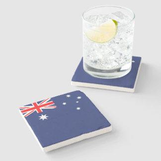 Flagge von Australien Steinuntersetzer
