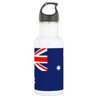 Flagge von Australien Trinkflasche