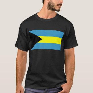 Flagge von Bahamas T-Shirt