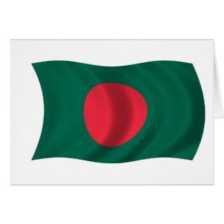 Flagge von Bangladesch Karte