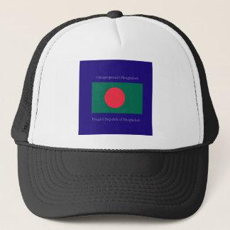 Flagge von Bangladesch Truckerkappe