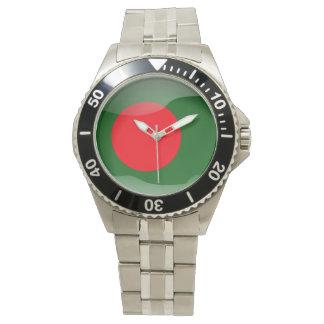 Flagge von Bangladesch Uhr