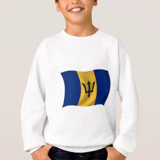 Flagge von Barbados Sweatshirt