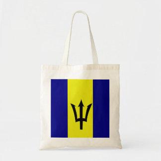 Flagge von Barbados Tragetasche