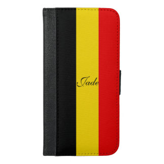 Flagge von Belgien iPhone 6/6s Plus Geldbeutel Hülle
