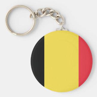Flagge von Belgien Keychain Schlüsselanhänger