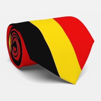Flagge von Belgien Krawatte