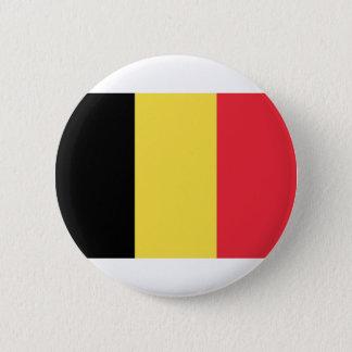 Flagge von Belgien Runder Button 5,1 Cm