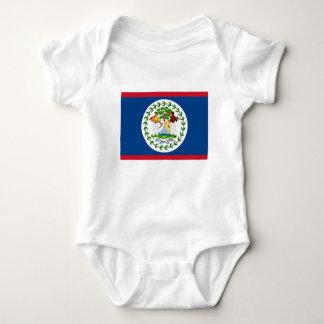 Flagge von Belize Baby Strampler