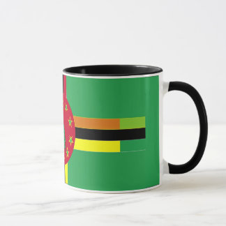 Flagge von Benin- und Dominica-Tasse Tasse