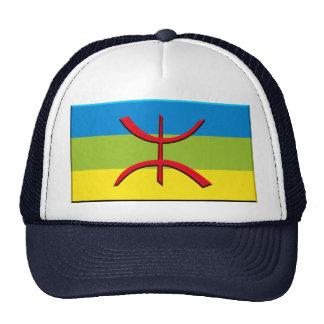 Flagge von Berbere oder von Amazigh Retrokappe