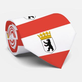 Flagge von Berlin Krawatte