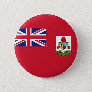 Flagge von Bermuda (Großbritannien) auf Runder Button 5,7 Cm