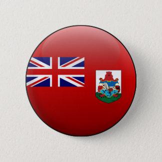 Flagge von Bermuda Runder Button 5,7 Cm