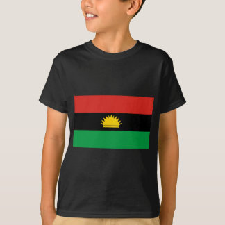 Flagge von Biafra (Bịafra) T-Shirt