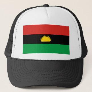 Flagge von Biafra (Bịafra) Truckerkappe