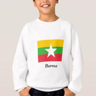 Flagge von Birma Sweatshirt