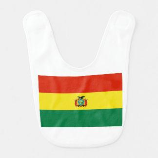 Flagge von Bolivien Babylätzchen