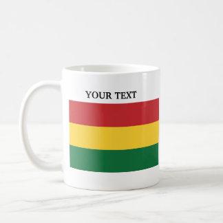 Flagge von Bolivien Kaffeetasse