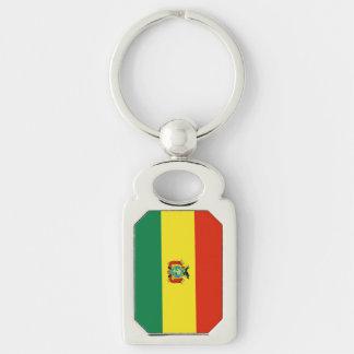 Flagge von Bolivien Schlüsselanhänger
