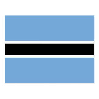 Flagge von Botswana Postkarte