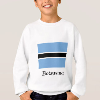 Flagge von Botswana Sweatshirt