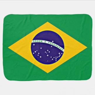 Flagge von Brasilien Babydecke