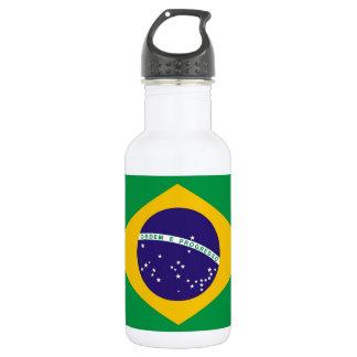 Flagge von Brasilien Bandeira tun Brasilien Trinkflasche