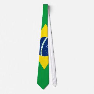 Flagge von Brasilien-Krawatte Bedruckte Krawatte
