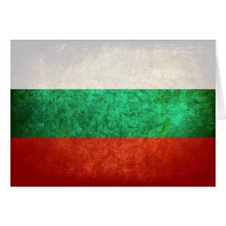 Flagge von Bulgarien Karte