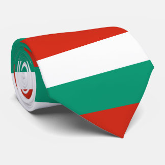 Flagge von Bulgarien oder von Bulgaren Krawatte