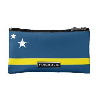 Flagge von Caracao Kosmetiktasche