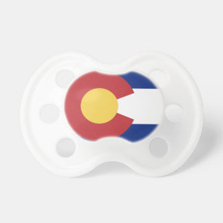 Flagge von Colorado Schnuller