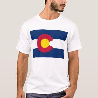 Flagge von Colorado-T-Shirt T-Shirt