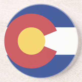 Flagge von Colorado Untersatz