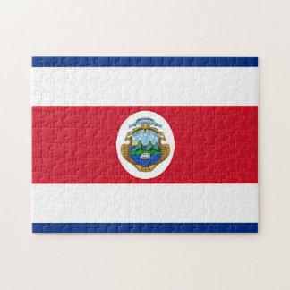 Flagge von Costa Rica Puzzle