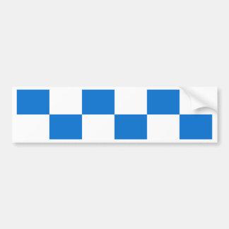 Flagge von Dalfsen Autoaufkleber