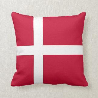 Flagge von Dänemark - skandinavisches Kreuz Kissen